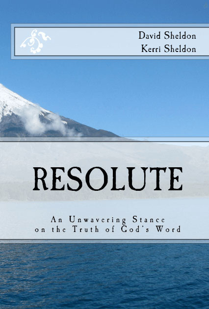 Resolute Book on Amazon